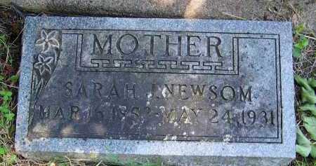NEWSOM, SARAH JANE - Dodge County, Nebraska   SARAH JANE NEWSOM - Nebraska Gravestone Photos