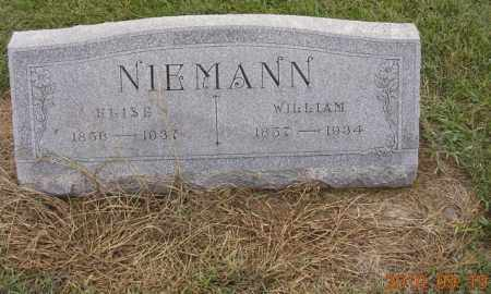 BECKER NIEMANN, ELISE - Dodge County, Nebraska | ELISE BECKER NIEMANN - Nebraska Gravestone Photos