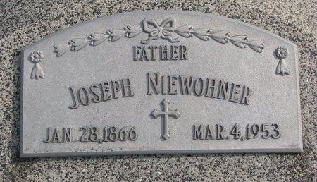 NIEWOHNER, JOSEPH - Dodge County, Nebraska   JOSEPH NIEWOHNER - Nebraska Gravestone Photos