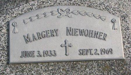 NIEWOHNER, MARGERY - Dodge County, Nebraska   MARGERY NIEWOHNER - Nebraska Gravestone Photos