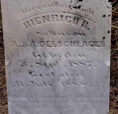 OELSCHLAGER, HIENRICH - Dodge County, Nebraska | HIENRICH OELSCHLAGER - Nebraska Gravestone Photos