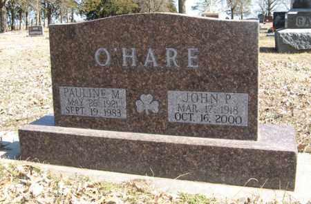 O'HARE, PAULINE M. - Dodge County, Nebraska | PAULINE M. O'HARE - Nebraska Gravestone Photos