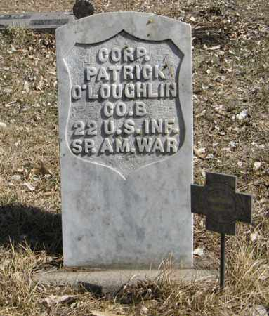O'LOUGHLIN, PATRICK (MILITARY MARKER) - Dodge County, Nebraska | PATRICK (MILITARY MARKER) O'LOUGHLIN - Nebraska Gravestone Photos