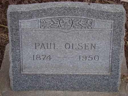 OLSEN, PAUL - Dodge County, Nebraska   PAUL OLSEN - Nebraska Gravestone Photos