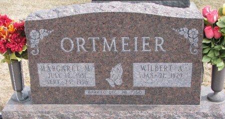 ORTMEIER, MARGARET M. - Dodge County, Nebraska   MARGARET M. ORTMEIER - Nebraska Gravestone Photos