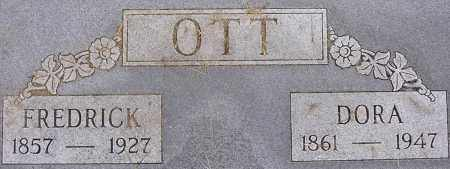 OTT, DORA - Dodge County, Nebraska | DORA OTT - Nebraska Gravestone Photos