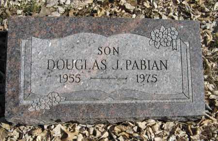 PABIAN, DOUGLAS J. - Dodge County, Nebraska | DOUGLAS J. PABIAN - Nebraska Gravestone Photos