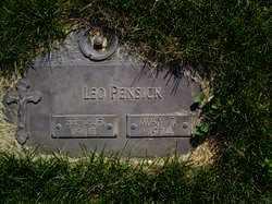 PENSICK, LEO - Dodge County, Nebraska | LEO PENSICK - Nebraska Gravestone Photos