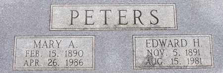 BEIKMANN PETERS, MARY A - Dodge County, Nebraska | MARY A BEIKMANN PETERS - Nebraska Gravestone Photos