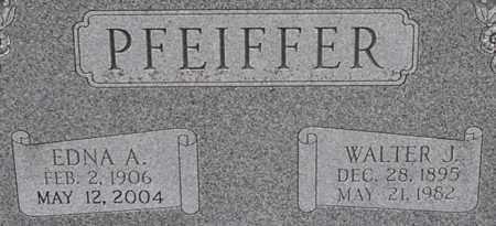 PFEIFFER, EDNA - Dodge County, Nebraska | EDNA PFEIFFER - Nebraska Gravestone Photos
