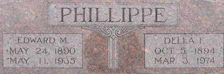PHILLIPPE, DELLA - Dodge County, Nebraska | DELLA PHILLIPPE - Nebraska Gravestone Photos