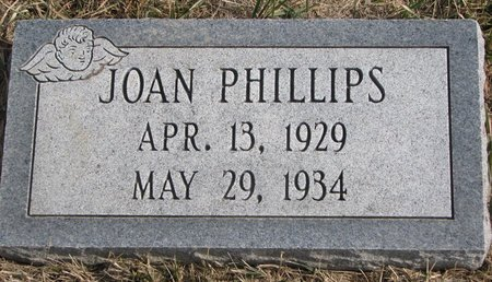 PHILLIPS, JOAN KATHRYN - Dodge County, Nebraska | JOAN KATHRYN PHILLIPS - Nebraska Gravestone Photos