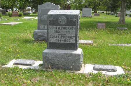 PINCKNEY, (FAMILY PLOT) - Dodge County, Nebraska | (FAMILY PLOT) PINCKNEY - Nebraska Gravestone Photos