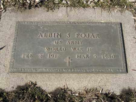 POJAR, ALBIN S. (MILITARY MARKER) - Dodge County, Nebraska | ALBIN S. (MILITARY MARKER) POJAR - Nebraska Gravestone Photos