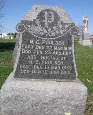 POULSEN, ANE - Dodge County, Nebraska   ANE POULSEN - Nebraska Gravestone Photos