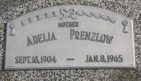 PRENZLOW, ADELIA - Dodge County, Nebraska | ADELIA PRENZLOW - Nebraska Gravestone Photos
