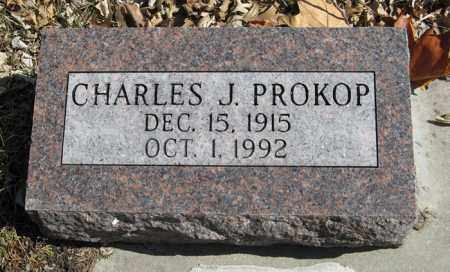PROKOP, CHARLES J. - Dodge County, Nebraska | CHARLES J. PROKOP - Nebraska Gravestone Photos