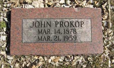 PROKOP, JOHN - Dodge County, Nebraska | JOHN PROKOP - Nebraska Gravestone Photos
