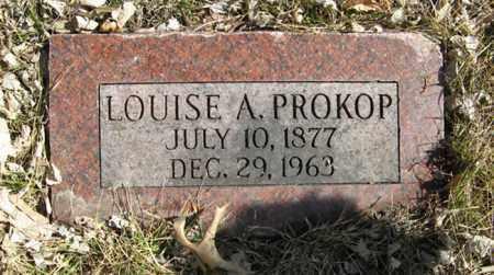 PROKOP, LOUISE A. - Dodge County, Nebraska | LOUISE A. PROKOP - Nebraska Gravestone Photos