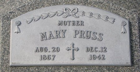 JABLONSKI PRUSS, MARY - Dodge County, Nebraska | MARY JABLONSKI PRUSS - Nebraska Gravestone Photos
