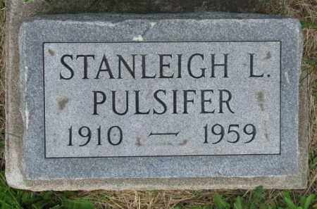PULSIFER, STANLEIGH L. - Dodge County, Nebraska | STANLEIGH L. PULSIFER - Nebraska Gravestone Photos