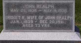 REALPH, JOHN - Dodge County, Nebraska   JOHN REALPH - Nebraska Gravestone Photos