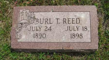 REED, BURL T. - Dodge County, Nebraska | BURL T. REED - Nebraska Gravestone Photos