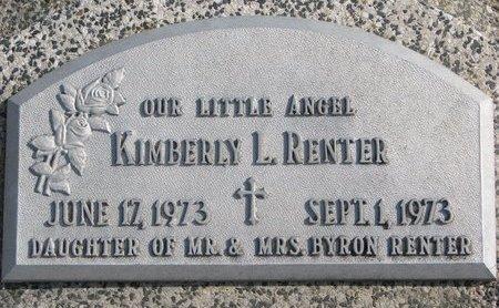 RENTER, KIMBERLY L. - Dodge County, Nebraska | KIMBERLY L. RENTER - Nebraska Gravestone Photos