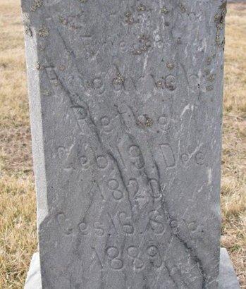 RETKE, FRIEDRICH (CLOSE UP) - Dodge County, Nebraska | FRIEDRICH (CLOSE UP) RETKE - Nebraska Gravestone Photos