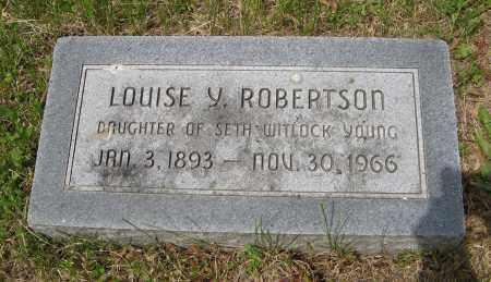 ROBERTSON, LOUISE Y. - Dodge County, Nebraska | LOUISE Y. ROBERTSON - Nebraska Gravestone Photos