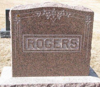ROGERS, *FAMILY MONUMENT - Dodge County, Nebraska | *FAMILY MONUMENT ROGERS - Nebraska Gravestone Photos