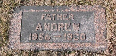 ROGERS, ANDREW - Dodge County, Nebraska | ANDREW ROGERS - Nebraska Gravestone Photos