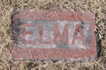 ROGERS, ELMA JANE (FOOTSTONE) - Dodge County, Nebraska | ELMA JANE (FOOTSTONE) ROGERS - Nebraska Gravestone Photos