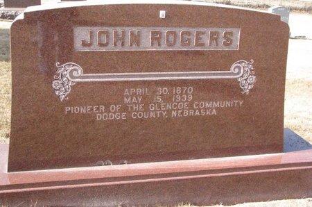 ROGERS, JOHN - Dodge County, Nebraska   JOHN ROGERS - Nebraska Gravestone Photos