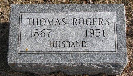 ROGERS, THOMAS - Dodge County, Nebraska | THOMAS ROGERS - Nebraska Gravestone Photos