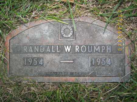 ROUMPH, RANDALL WARREN - Dodge County, Nebraska | RANDALL WARREN ROUMPH - Nebraska Gravestone Photos