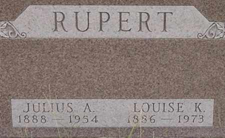 RUPERT, JULIUS - Dodge County, Nebraska | JULIUS RUPERT - Nebraska Gravestone Photos