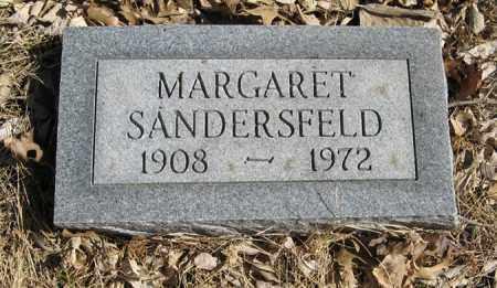 SANDERSFELD, MARGARET - Dodge County, Nebraska | MARGARET SANDERSFELD - Nebraska Gravestone Photos