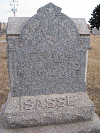 SASSE, GOTTFRIED - Dodge County, Nebraska   GOTTFRIED SASSE - Nebraska Gravestone Photos