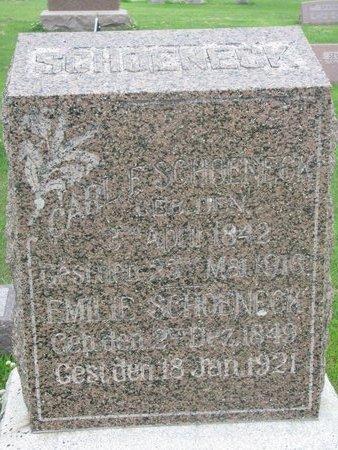 SCHOENECK, CARL F. - Dodge County, Nebraska | CARL F. SCHOENECK - Nebraska Gravestone Photos