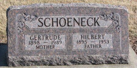 SCHOENECK, HILBERT - Dodge County, Nebraska | HILBERT SCHOENECK - Nebraska Gravestone Photos