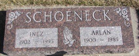 HALL SCHOENECK, INEZ - Dodge County, Nebraska | INEZ HALL SCHOENECK - Nebraska Gravestone Photos