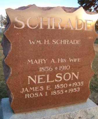 SCHRADE, MARY A - Dodge County, Nebraska | MARY A SCHRADE - Nebraska Gravestone Photos