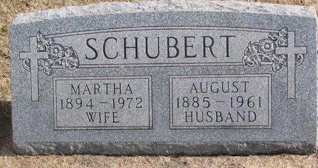 KRUGER SCHUBERT, MARTHA - Dodge County, Nebraska | MARTHA KRUGER SCHUBERT - Nebraska Gravestone Photos