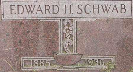 SCHWAB, EDWARD - Dodge County, Nebraska   EDWARD SCHWAB - Nebraska Gravestone Photos