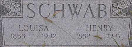 SCHWAB, LOUISA - Dodge County, Nebraska | LOUISA SCHWAB - Nebraska Gravestone Photos