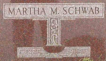 SCHWAB, MARTHA - Dodge County, Nebraska | MARTHA SCHWAB - Nebraska Gravestone Photos