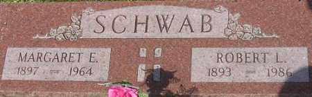 SCHWAB, MARGARET E. - Dodge County, Nebraska   MARGARET E. SCHWAB - Nebraska Gravestone Photos