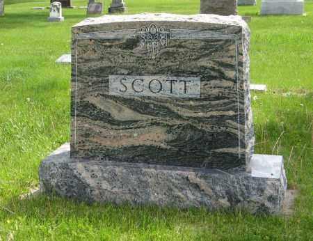 SCOTT, (FAMILY MONUMENT) - Dodge County, Nebraska | (FAMILY MONUMENT) SCOTT - Nebraska Gravestone Photos