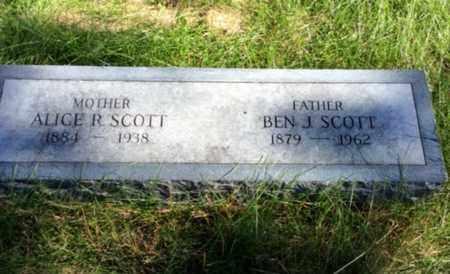 SCOTT, BEN J. - Dodge County, Nebraska   BEN J. SCOTT - Nebraska Gravestone Photos